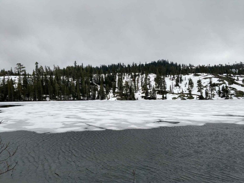 Frozen Lake Basin
