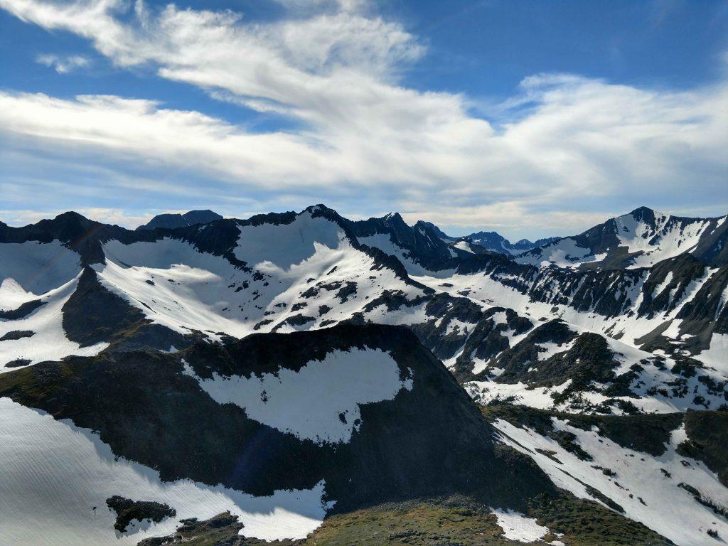 Crazy Peak Summits