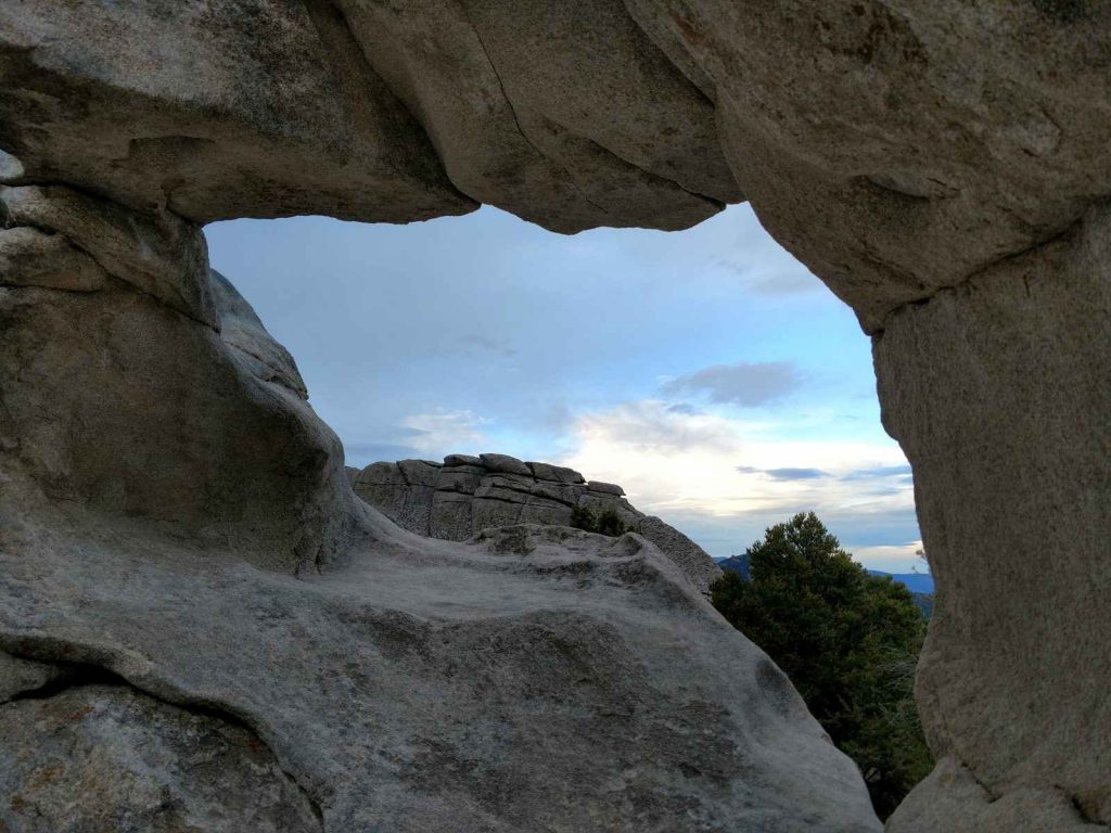 Window Rock, City of Rocks
