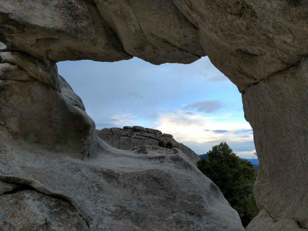 Window Rock, City of Rocks