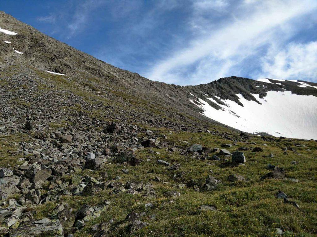 West Ridge of Crazy Peak Montana