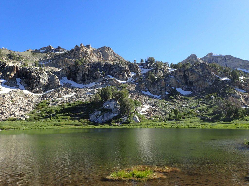 Dollar Lakes Lamoille Canyon