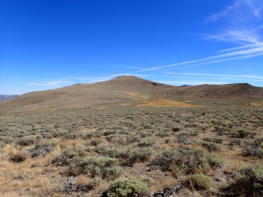 Potato Peak and Bodie Peak, California