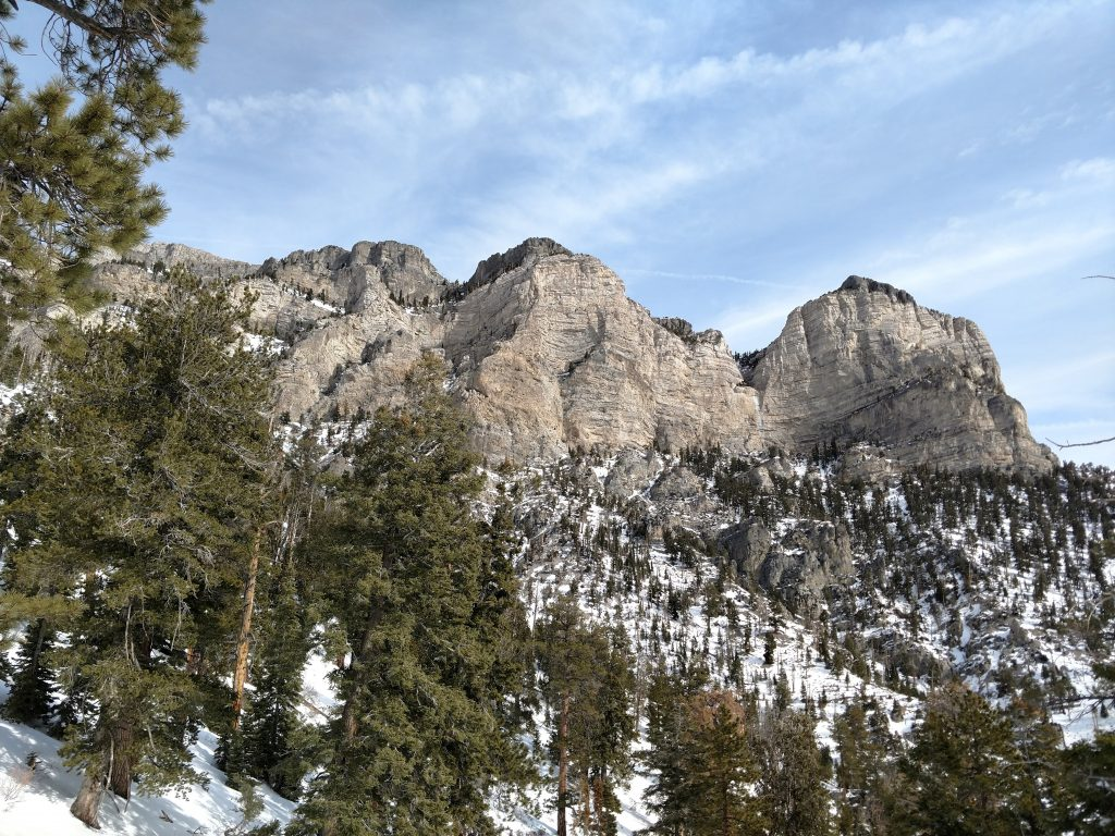Mt Charleston Wilderness Winter