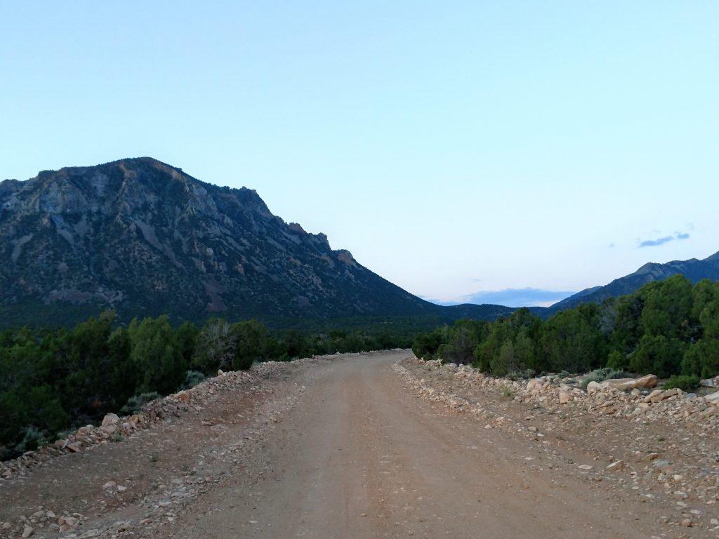 Bull Creek Pass Road