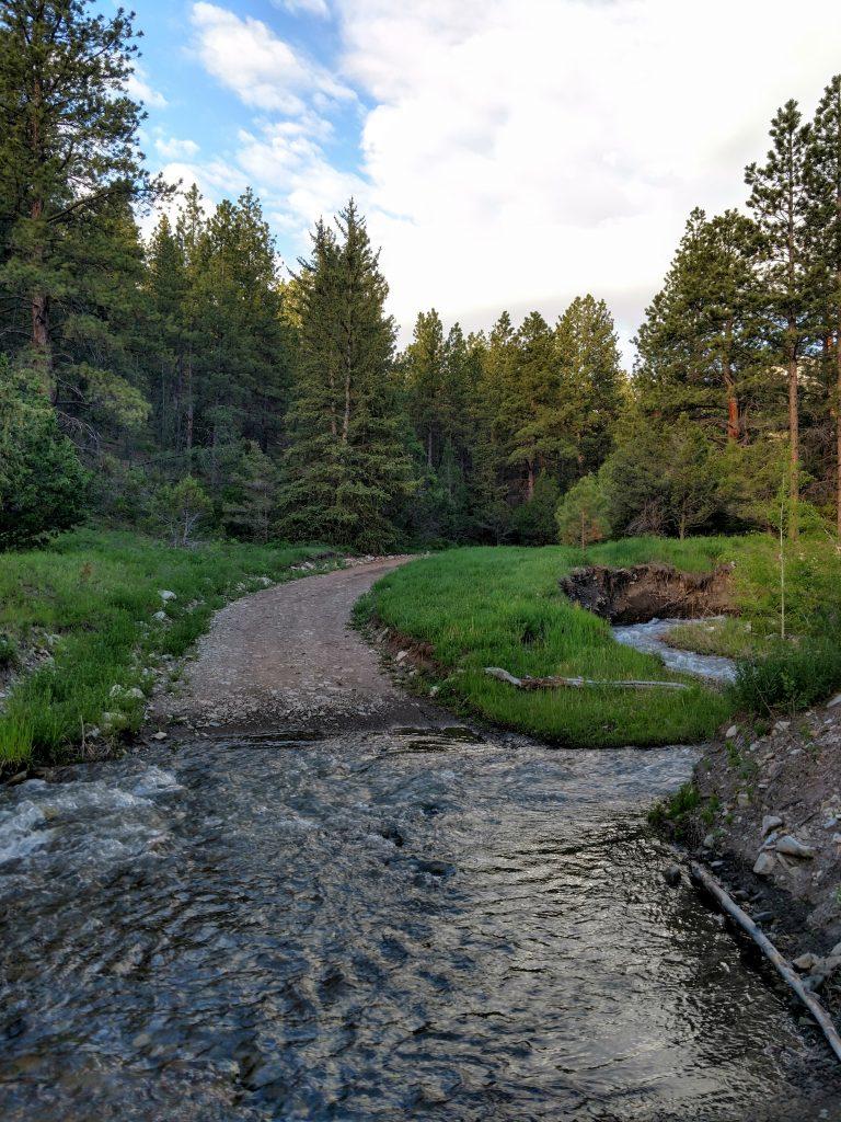 Bull Creek Pass Road Water Crossing