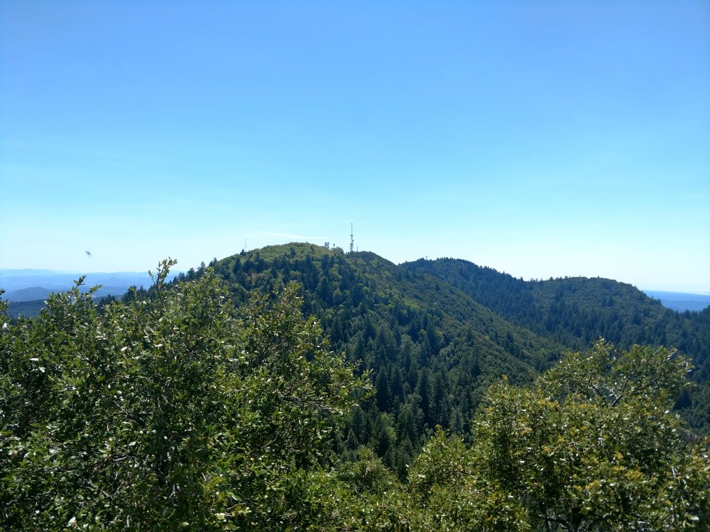 Cahto Peak from Signal Peak