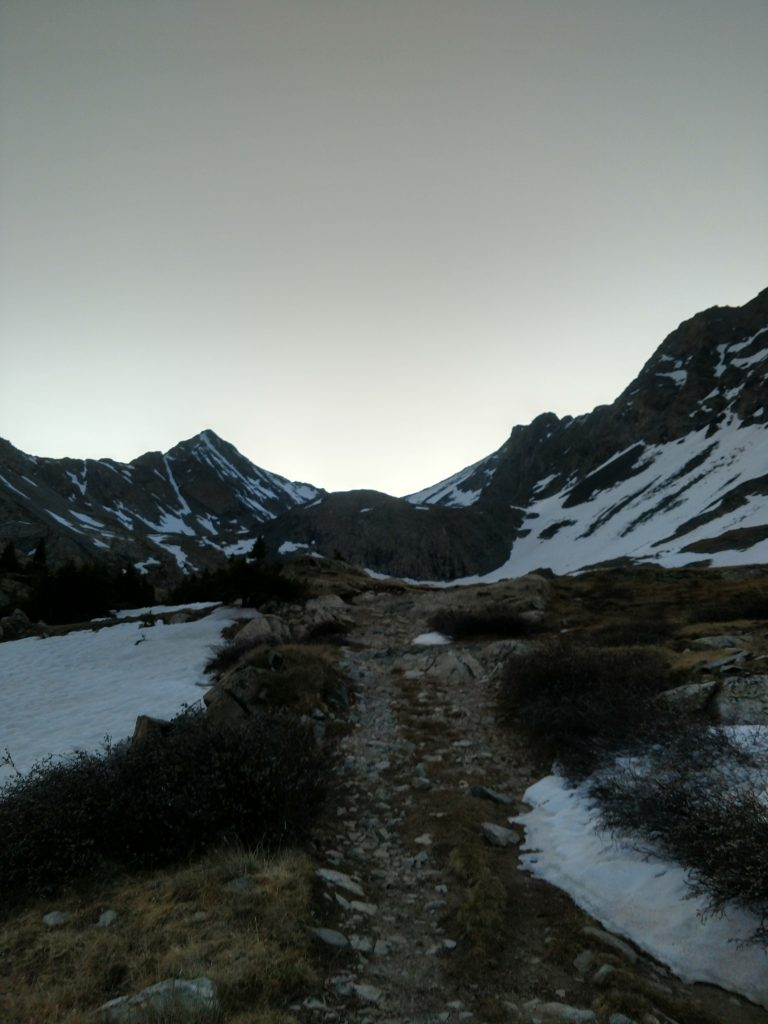 Early light near Mt Blanca