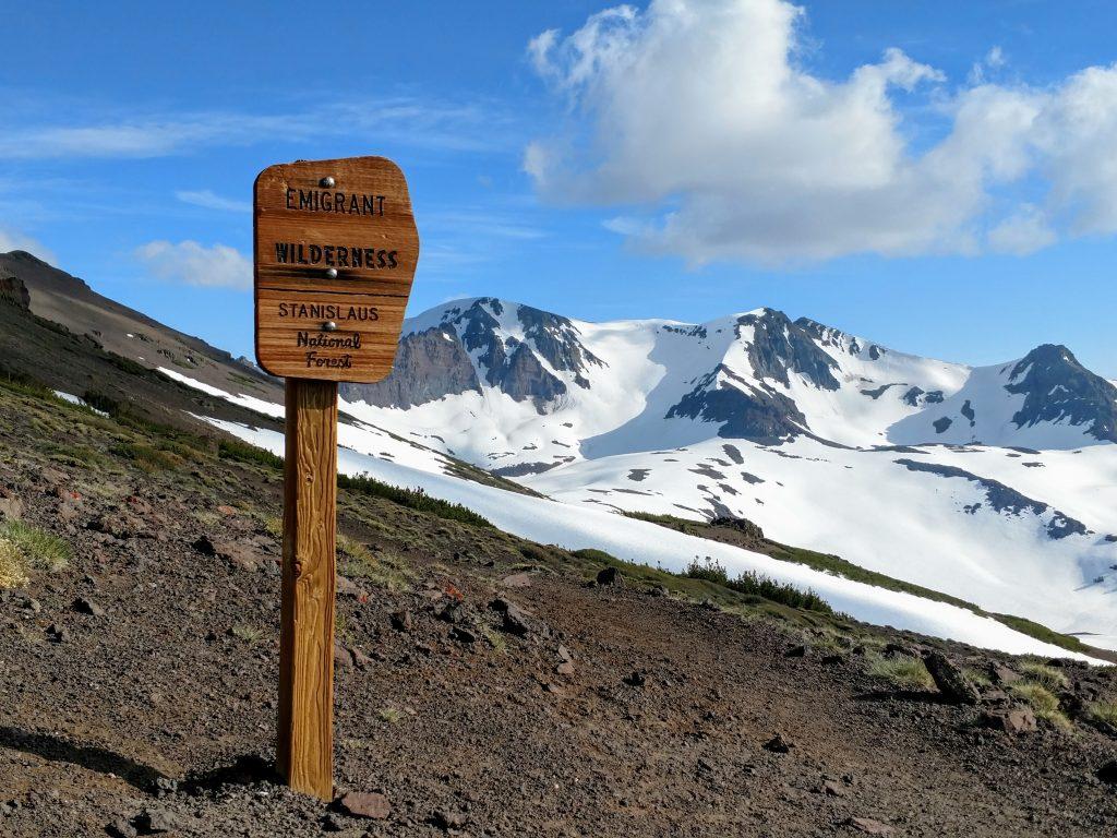 Emigrant Wilderness Boundary