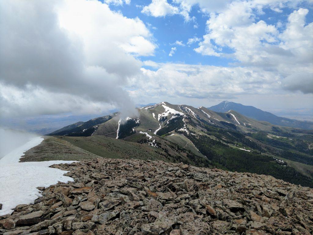 Henry Mountains Ridgeline