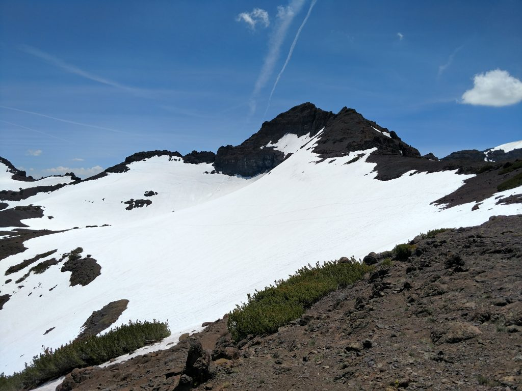 Pacific crest trail in spring