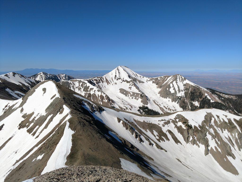 Mt Peale Mt Tuk