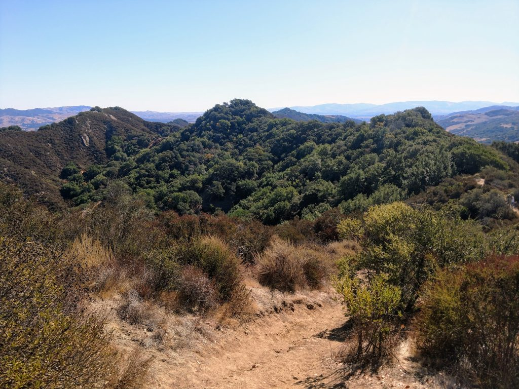 Las Trampas Wilderness to Vail Peak