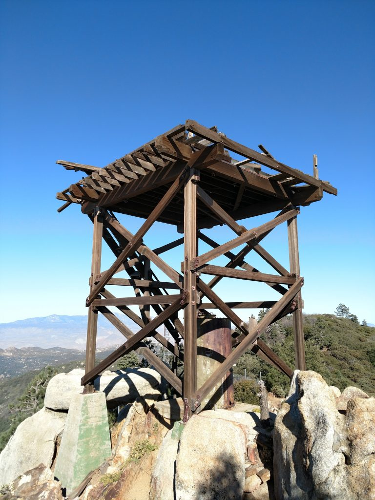 Fire lookout hot springs mountain