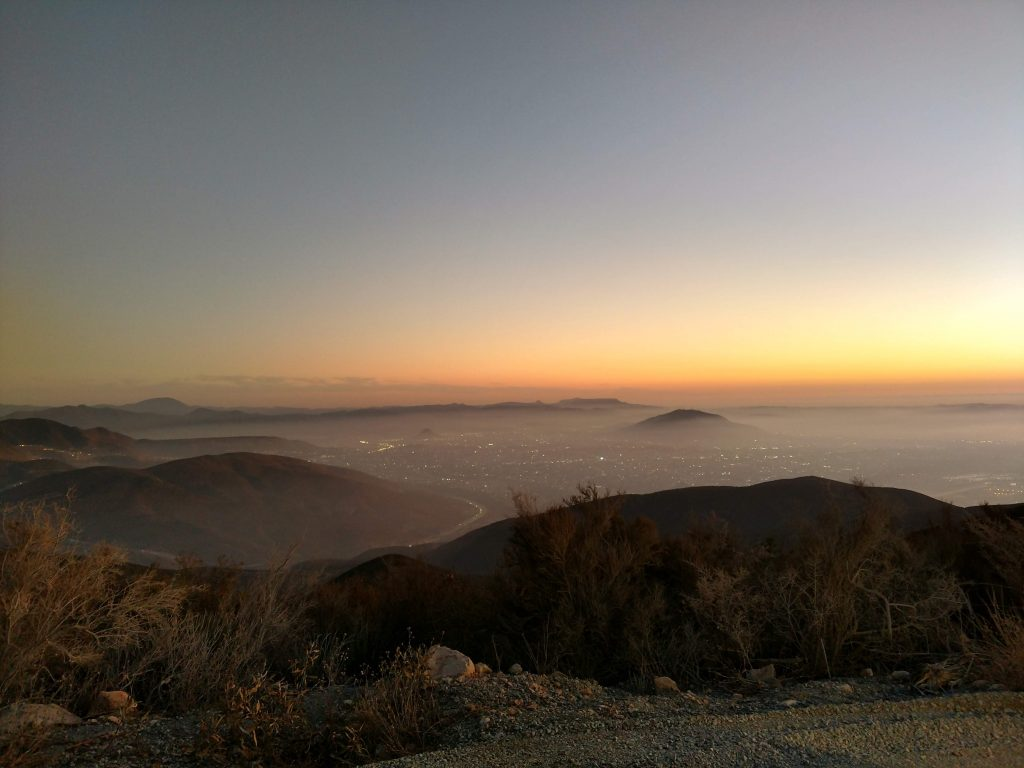 Sunset on Otay Mountain 2