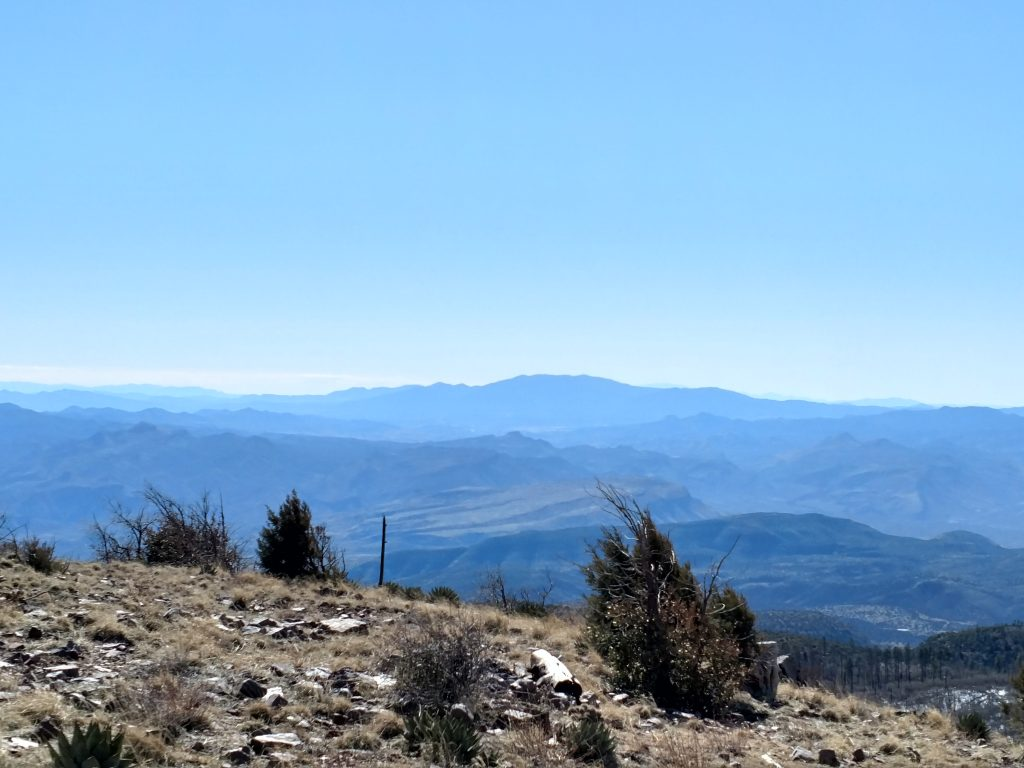 Aztec Peak View