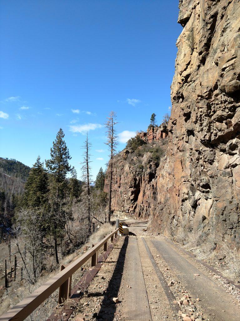 Road up Aztec Peak