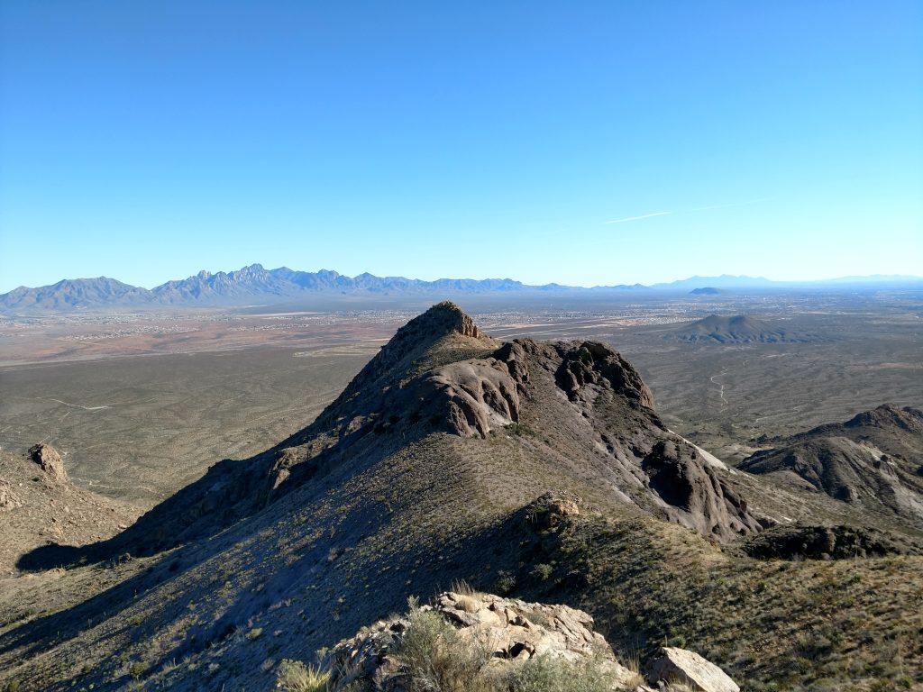Doña Ana Mountain summit