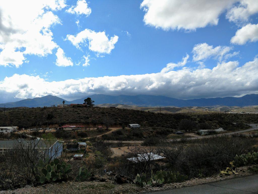 Mt Pinal and Signal Peak Globe Arizona