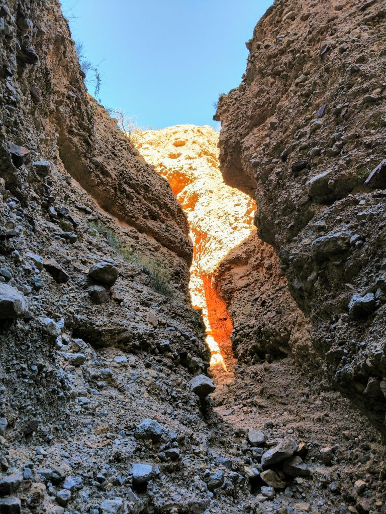 Leasburg Slot Canyon New Mexico