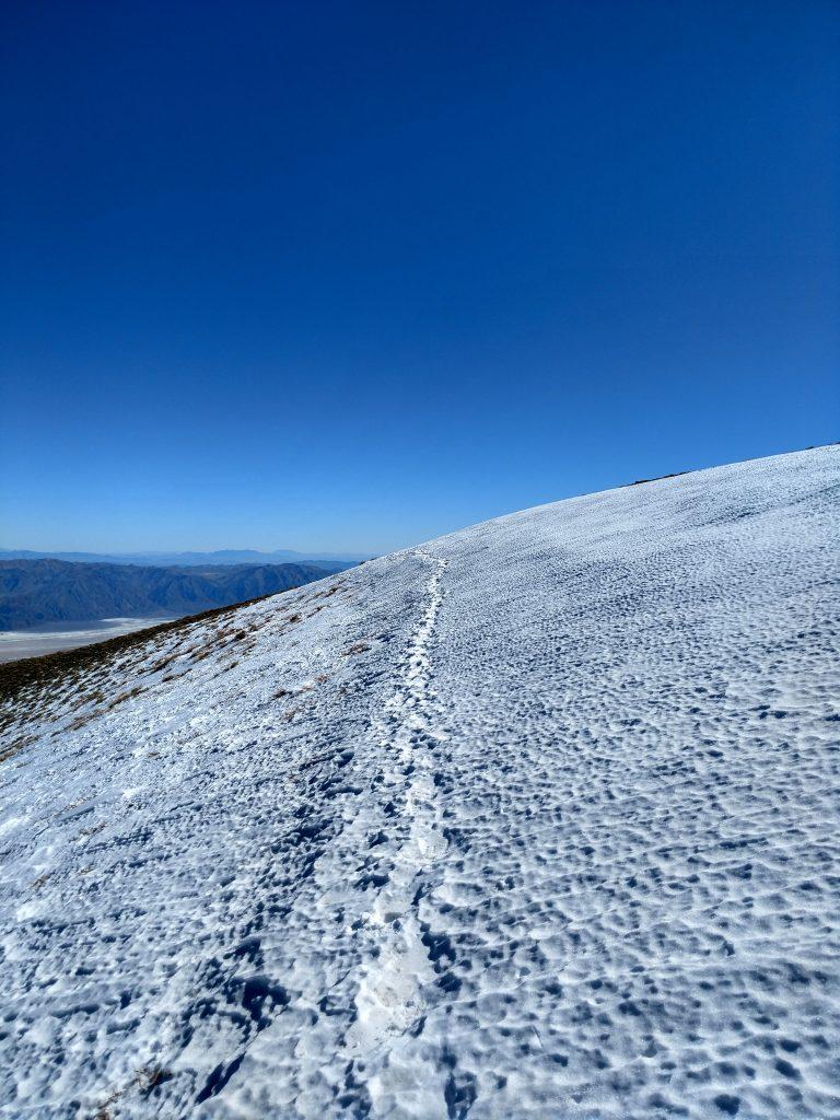 Death Valley Snow