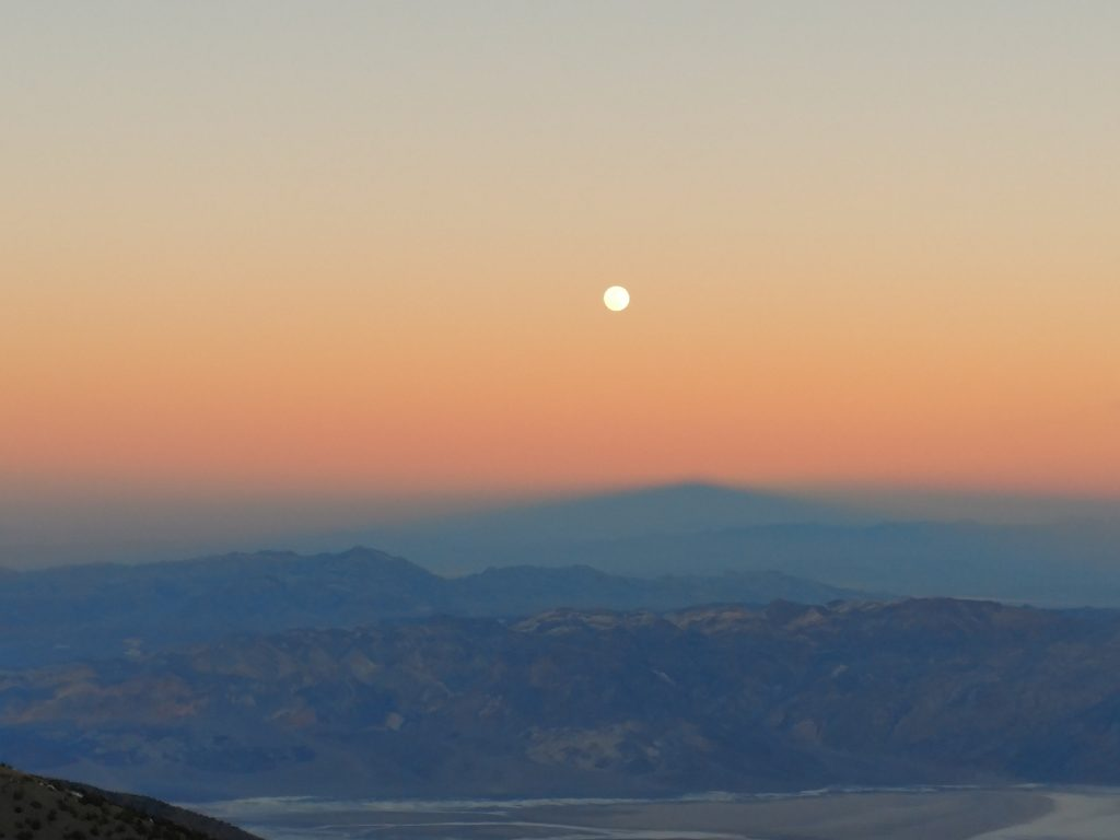 Death Valley Moonrise