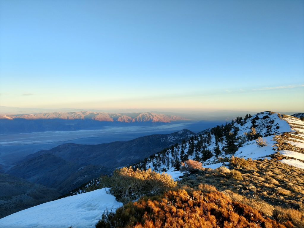 Telescope Peak Views