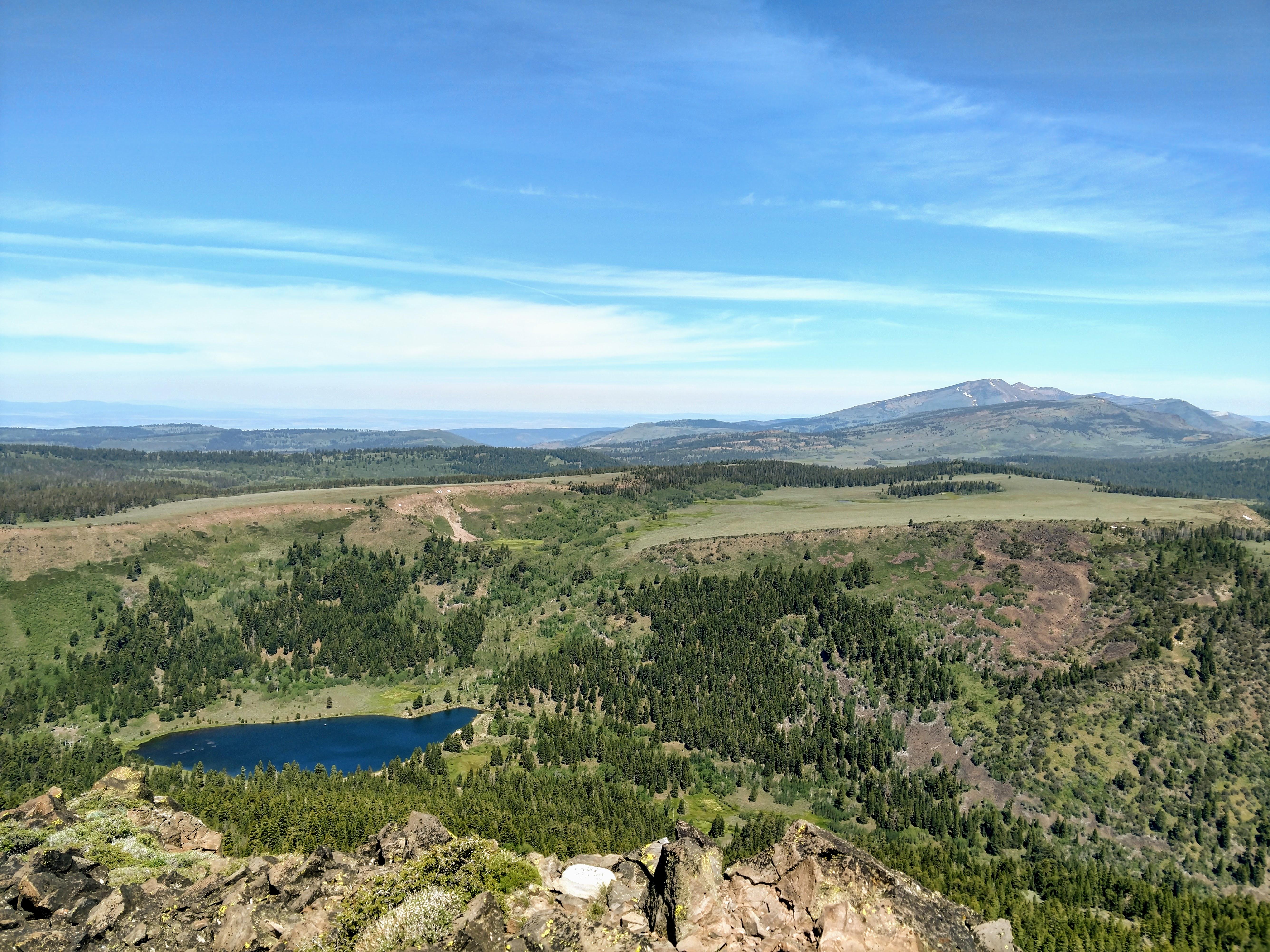 Hat Mountain Lassen County