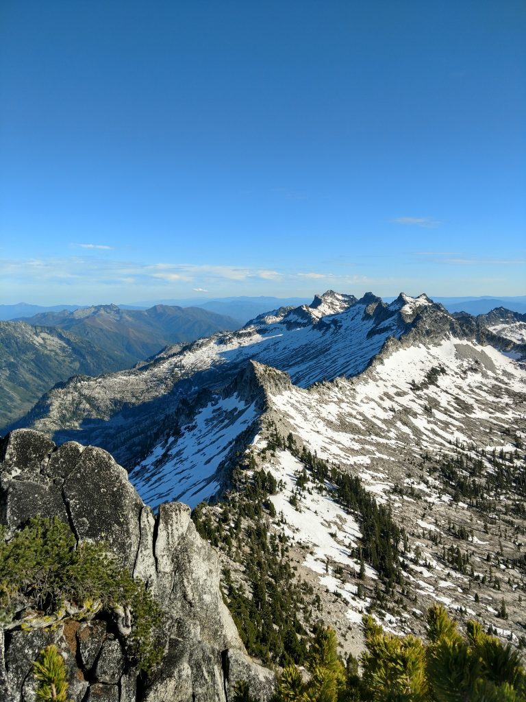 Wedding Cake Trinity Alps
