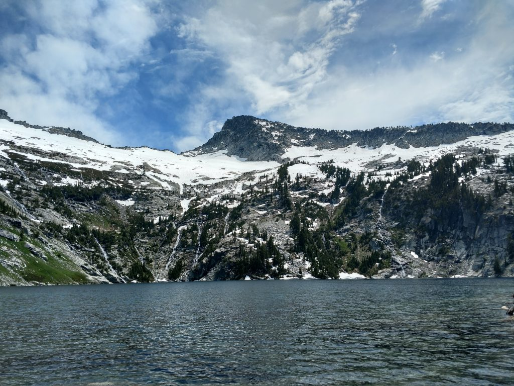 Mt Thompson Trinity Alps