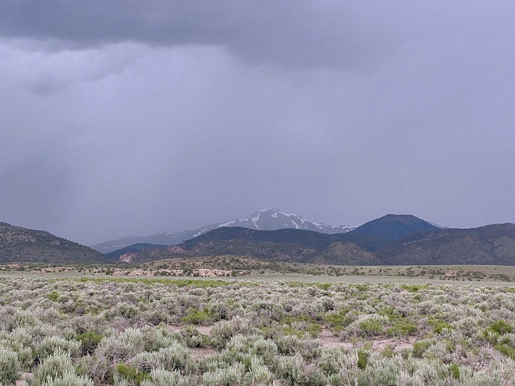 Mt Jefferson, Nevada