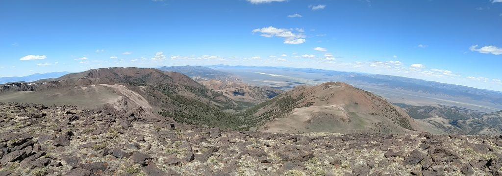 Mt Jefferson Panorama