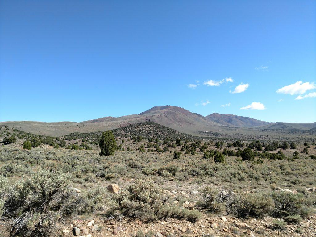 Mt Jefferson Nevada