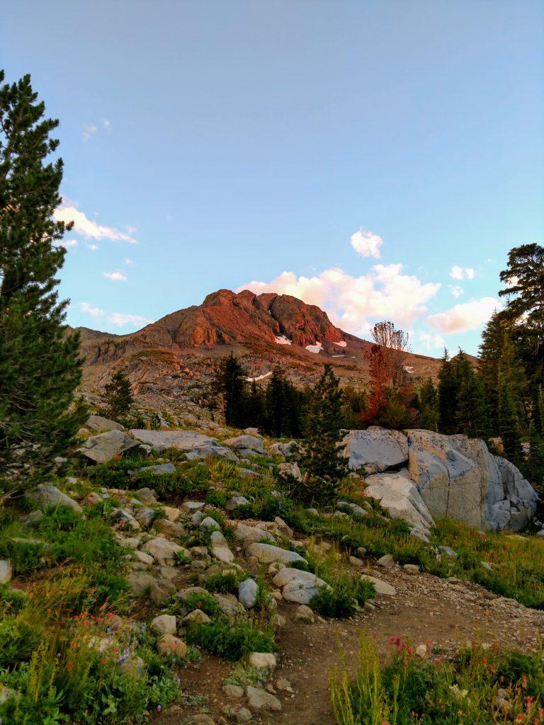 Round Top Mountain, California