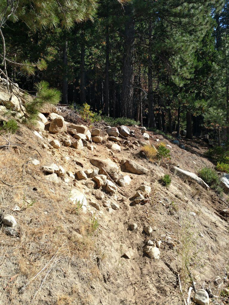 Route up Pyramid Peak
