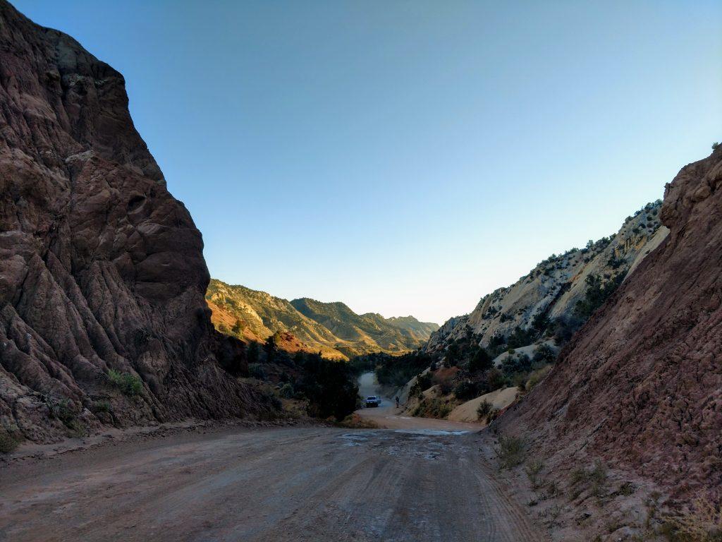 Cottonwood Road Utah, the Coxcomb