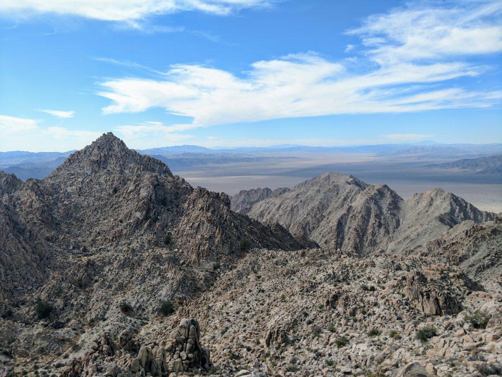 Spectre Peak Coxcomb Mountains
