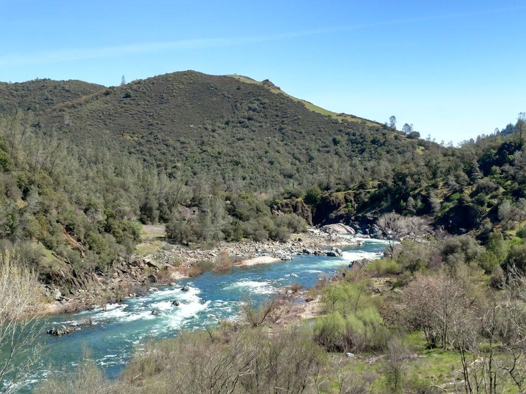 Middle Fork American River hike near Roseville