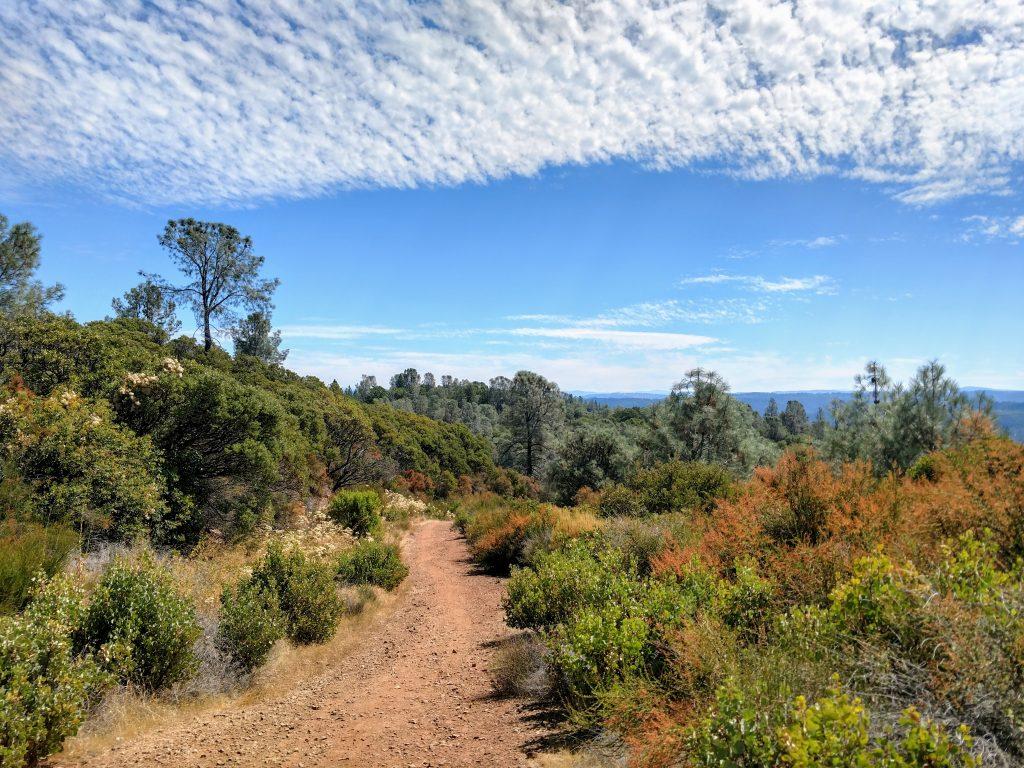 Fuel Break Trail - Auburn State Recreation Area